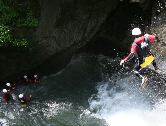 Canyoning in Passeiertal